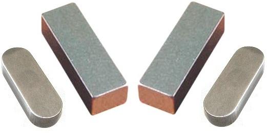 Шпонка ГОСТ 8790-79 Призматическая направляющая