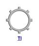 Кольцо стопорное TI самостопорящееся, без канавки, осевое внутреннее (дюймовое)