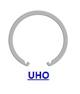 Кольцо стопорное UHO концентрическое осевое внутреннее (дюймовое)